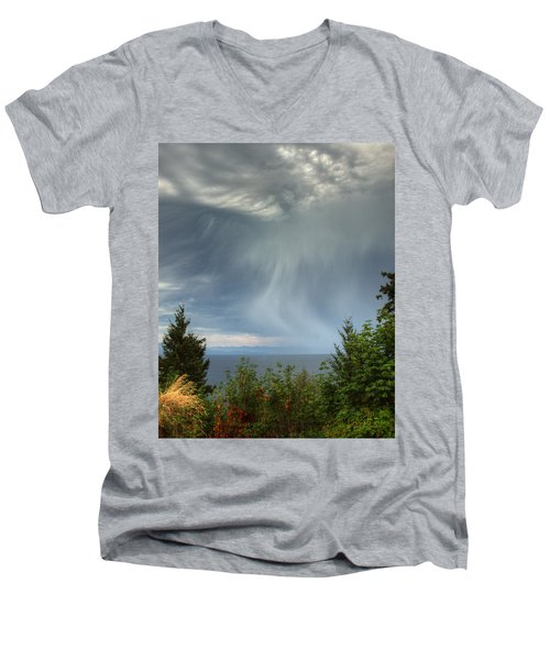 Summer Squall Men's V-Neck T-Shirt
