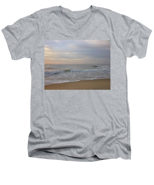 Summer Sunrise Men's V-Neck T-Shirt