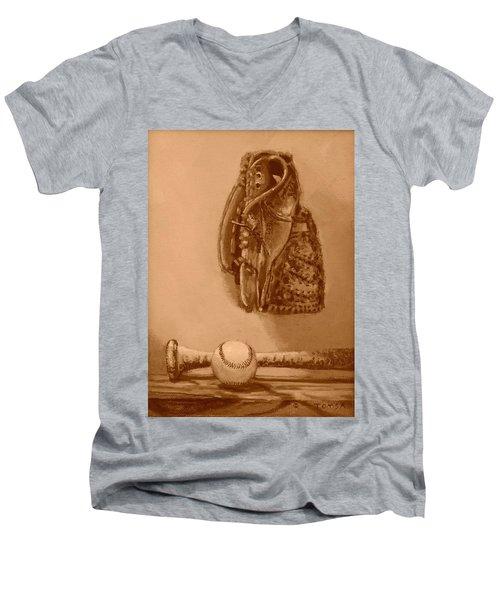 Summer's Game Men's V-Neck T-Shirt