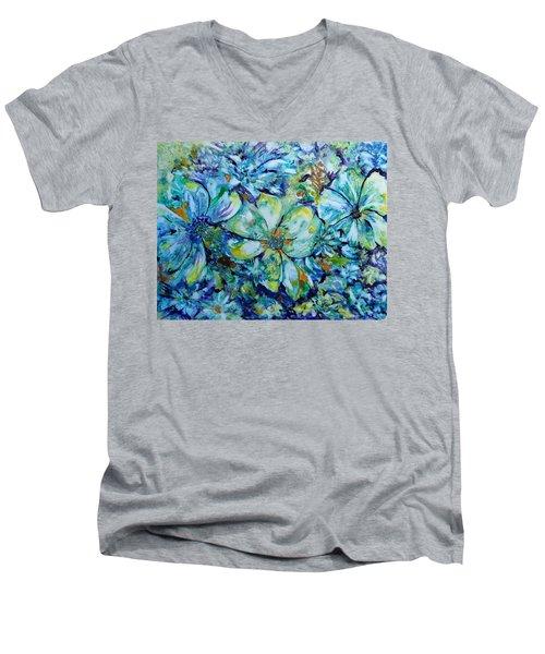 Summertime Blues Men's V-Neck T-Shirt