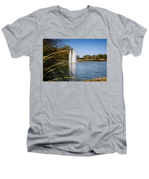 Sun City Entrance Men's V-Neck T-Shirt