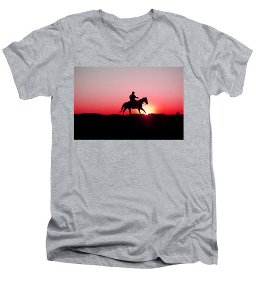 Sun Dancer Men's V-Neck T-Shirt