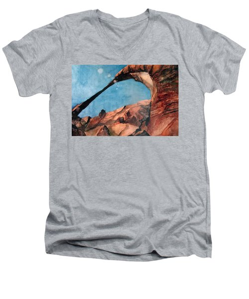 Sun Dogs Men's V-Neck T-Shirt