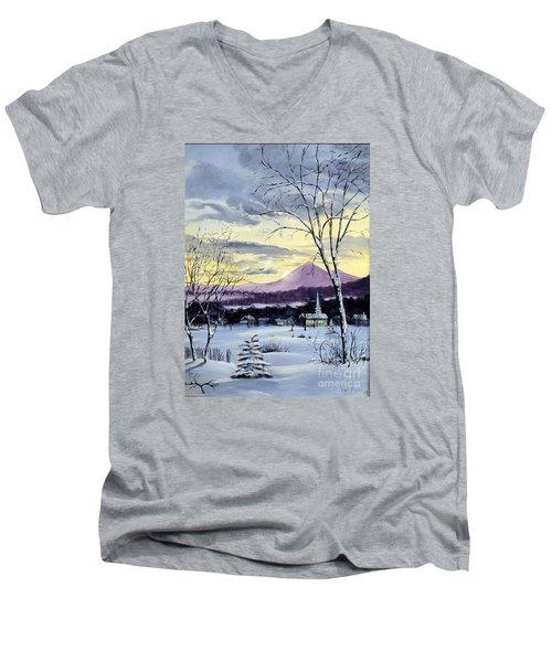 Sunday In Winter Men's V-Neck T-Shirt
