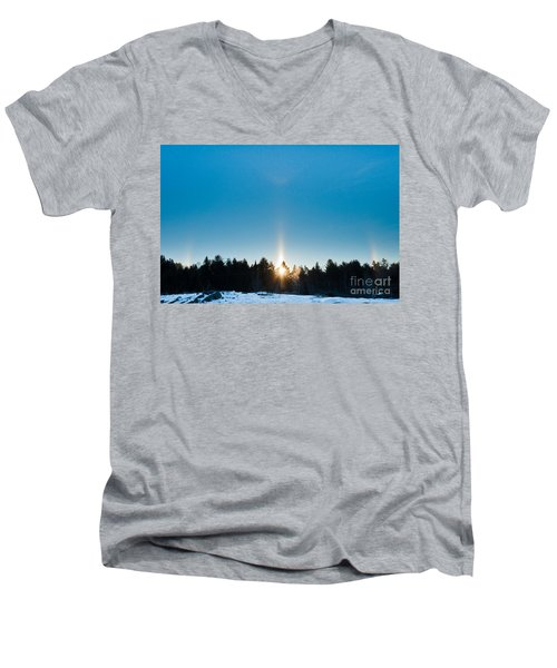 Sundog Spectacular Men's V-Neck T-Shirt