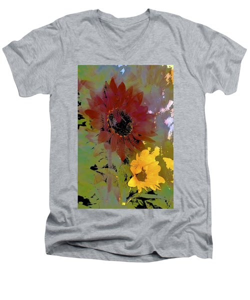 Sunflower 33 Men's V-Neck T-Shirt