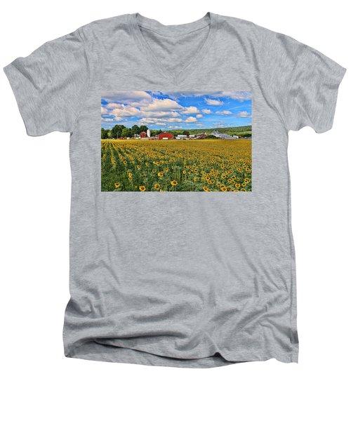 Sunflower Nirvana 17 Men's V-Neck T-Shirt