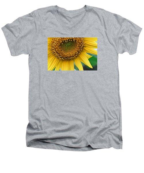 Sunflower Smiles Men's V-Neck T-Shirt