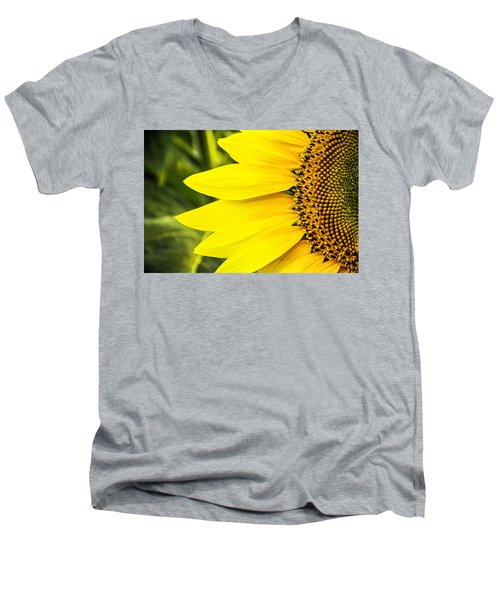 Sunflower Sunshine Men's V-Neck T-Shirt