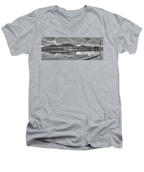 Sunny Beach Point 3 Men's V-Neck T-Shirt