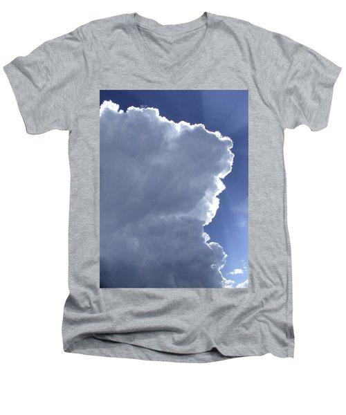 Sunrays Above Men's V-Neck T-Shirt