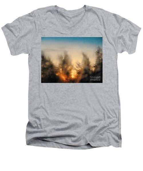 Sunrise Dream Men's V-Neck T-Shirt