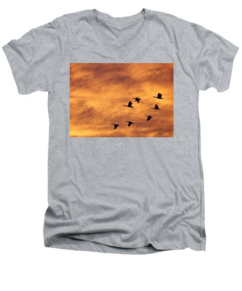 Sunrise Flight 2 Men's V-Neck T-Shirt
