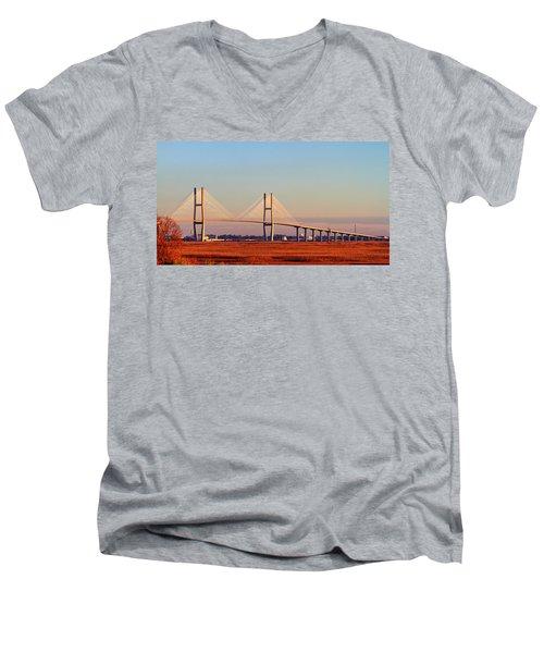 Sunrise On Sydney Men's V-Neck T-Shirt