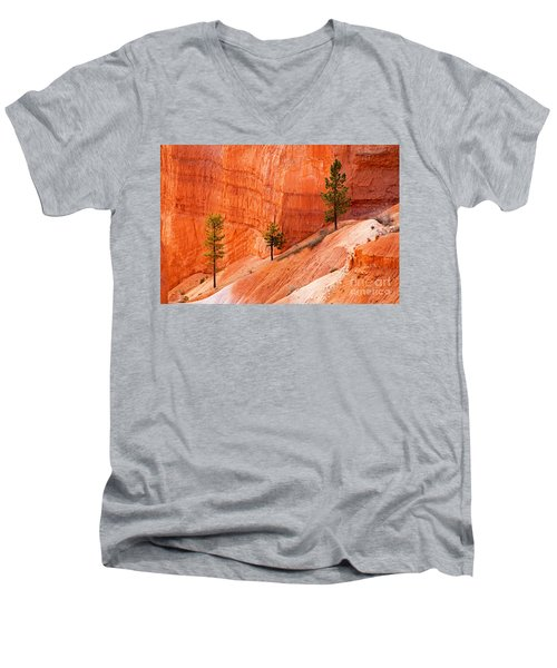 Sunrise Point Bryce Canyon National Park Men's V-Neck T-Shirt