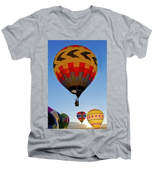 Sunrise Spectacular Men's V-Neck T-Shirt