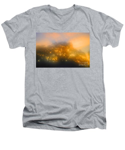 Sunset Mocks Sunrise Men's V-Neck T-Shirt