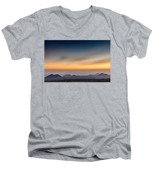 Sunset Over The Gulf Men's V-Neck T-Shirt