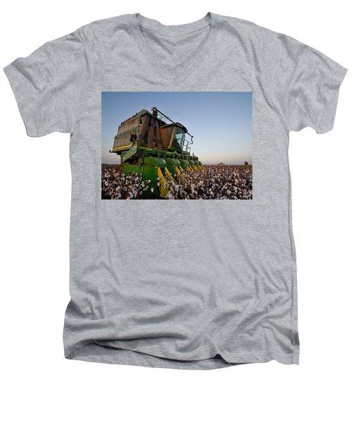 Sunset Pickin' Men's V-Neck T-Shirt