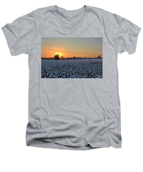 Sunset Row Men's V-Neck T-Shirt