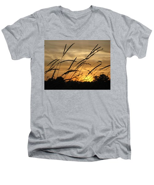 Sunset Sentinels Men's V-Neck T-Shirt