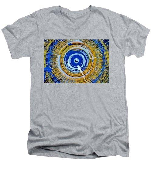 Super Nova Color Men's V-Neck T-Shirt