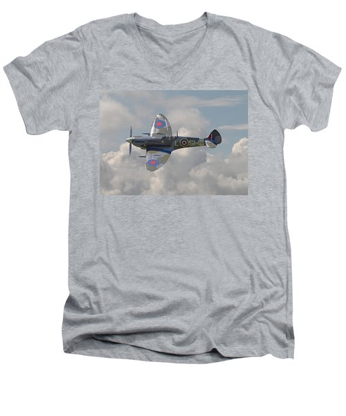 Supermarine Spitfire Men's V-Neck T-Shirt