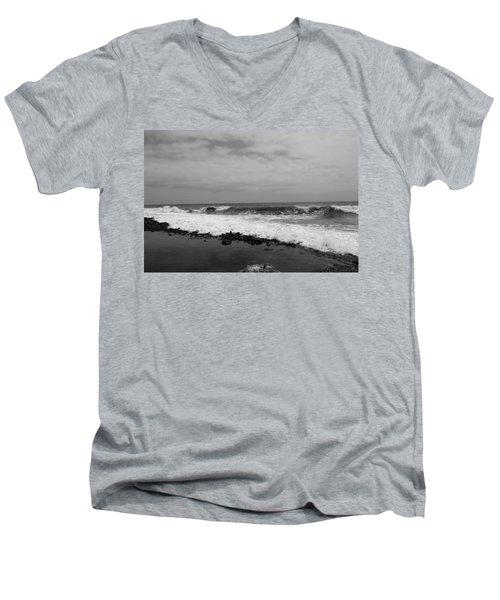 Surf Rolling In  Men's V-Neck T-Shirt