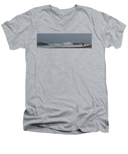 Surfs Up Men's V-Neck T-Shirt