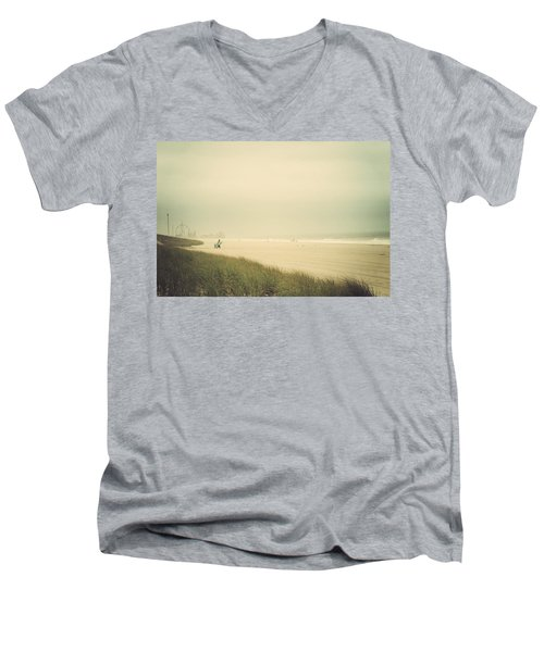 Surf's Up Seaside Park New Jersey Men's V-Neck T-Shirt