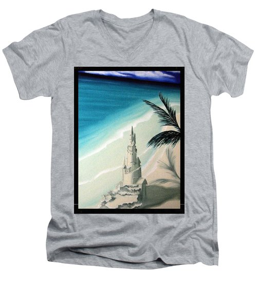 Surprise Blessing Men's V-Neck T-Shirt by Dianna Lewis