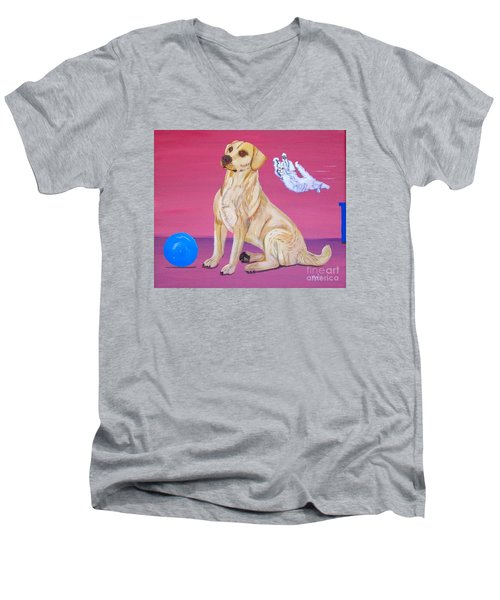 Surprise Men's V-Neck T-Shirt