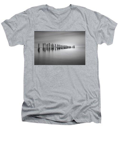 Surrender Men's V-Neck T-Shirt by Eduard Moldoveanu