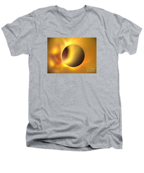 Surya Men's V-Neck T-Shirt by Kim Sy Ok