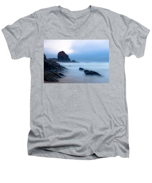 Suspended In The Infinite Men's V-Neck T-Shirt