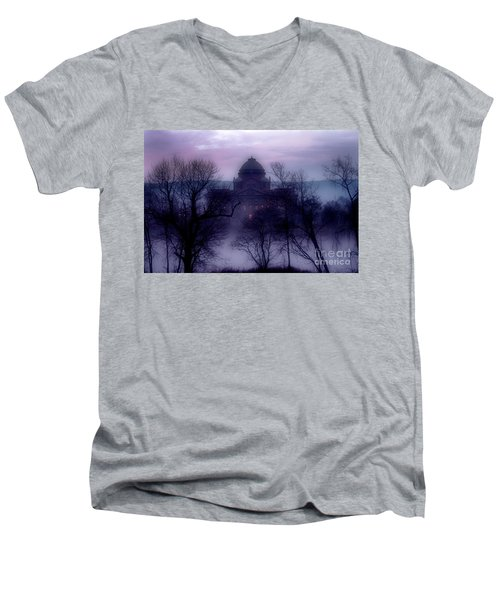 Susquehanna Commons... Men's V-Neck T-Shirt