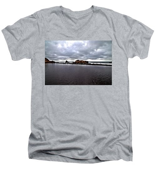 Sutro Baths Pool Men's V-Neck T-Shirt
