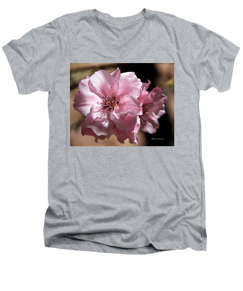 Sweet Blossoms Men's V-Neck T-Shirt