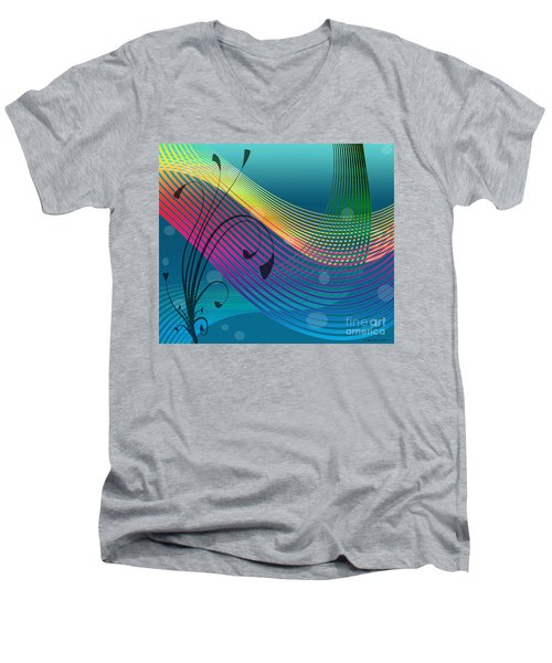 Sweet Dreams Abstract Men's V-Neck T-Shirt