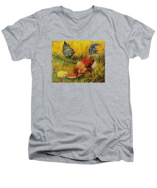 Sweet Pickins, Chickens Men's V-Neck T-Shirt