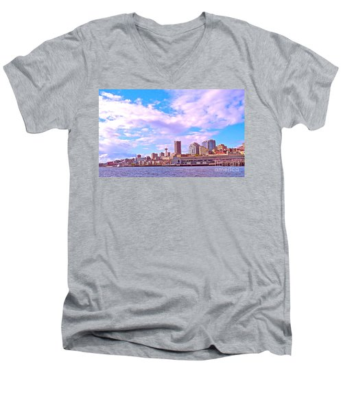 Sweet Seattle Men's V-Neck T-Shirt
