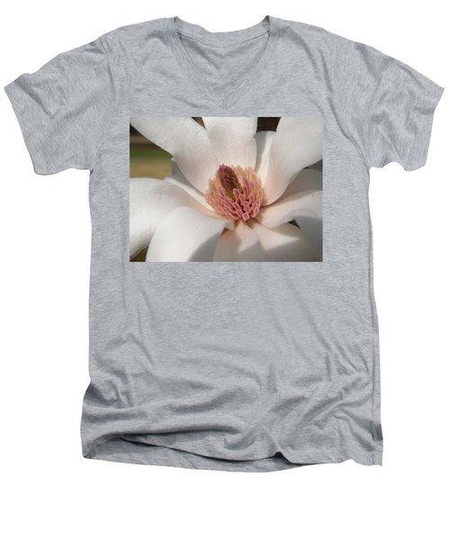 Sweet Star Magnolia Men's V-Neck T-Shirt