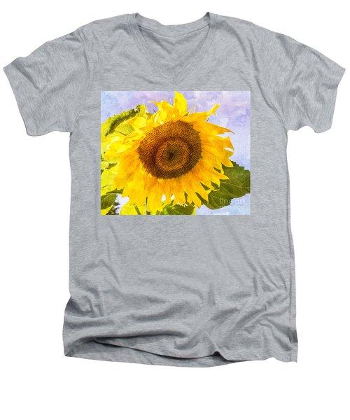 Sweet Sunflower Men's V-Neck T-Shirt