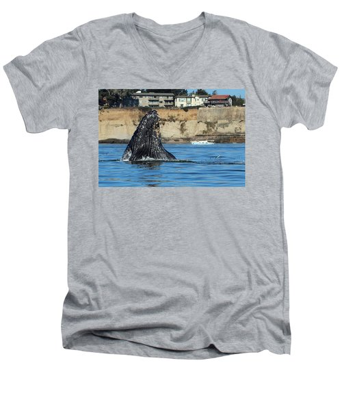 Swim Away Men's V-Neck T-Shirt