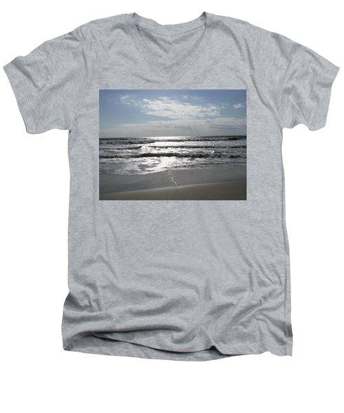 Swirling Sunshine Men's V-Neck T-Shirt