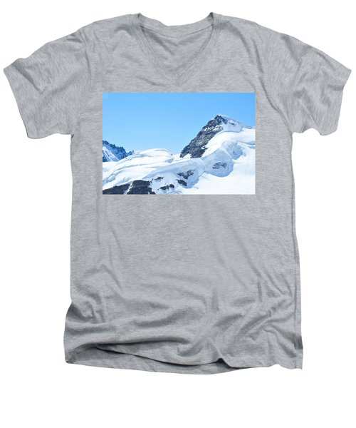 Swiss Alps Men's V-Neck T-Shirt
