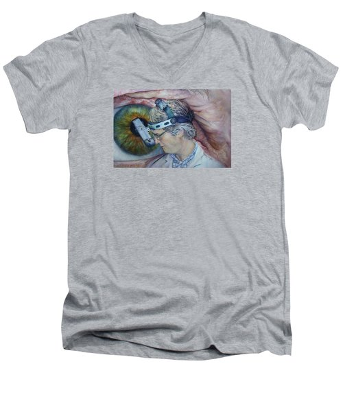 Symbiosis Men's V-Neck T-Shirt