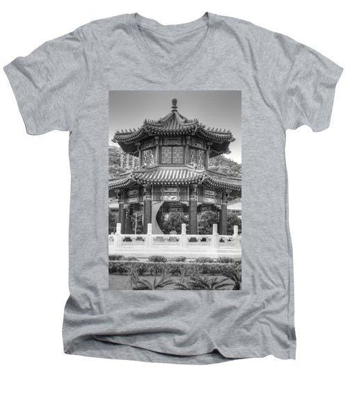Taiwan Gazebo Men's V-Neck T-Shirt