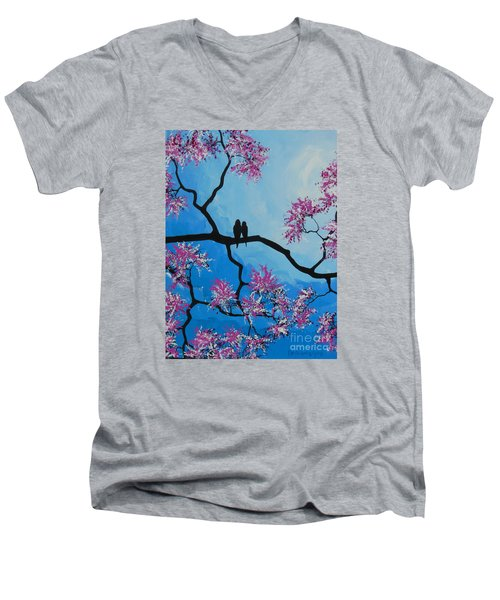 Take Me Away With You Men's V-Neck T-Shirt by Dan Whittemore