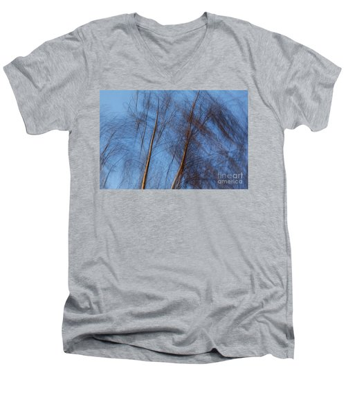 Talking Trees Men's V-Neck T-Shirt